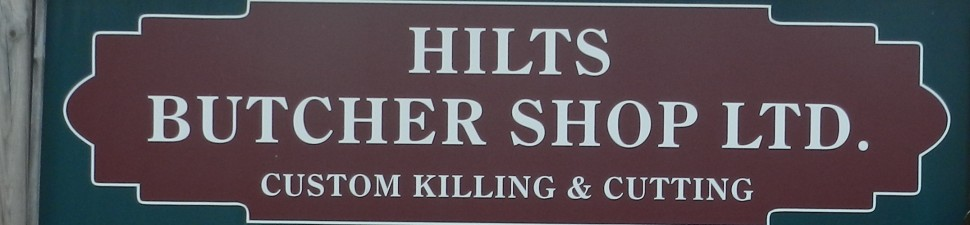 Hilts Butcher Shop